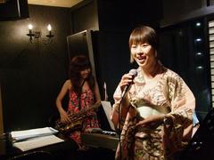 折井さんと加地さんでは、一緒のステージも実現♪
