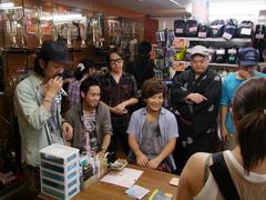 サイン会、CD販売会も行いました!