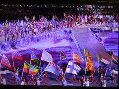 各国の国旗が!