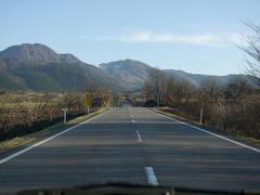 飯田高原の道のり…景色が素晴らしい