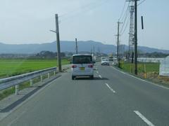 快適ドライブ♪…筑紫平野を走ります