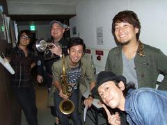 2nd.ステージ直前のショット!