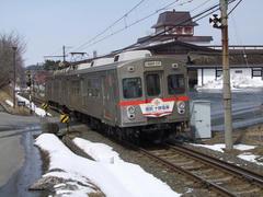こちらも東急からやってきた7700系電車