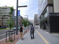 札幌駅付近に到着!