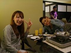 今回、スタッフとして手伝ってくれた、山上祐子さんと加納里奈さん