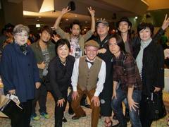 織田家と記念写真!…おめでとうございました