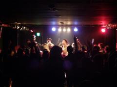 酒田でのライブ…盛り上がってます!