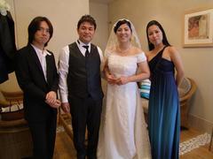 この結婚式披露宴の演奏が切っ掛けでもありました