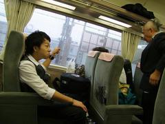 電車に乗ってしまえば、後は楽ちん♪