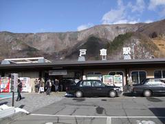 しなの鉄道の運行の拠点となっている戸倉駅