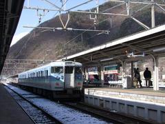 今後運用される、2両編成の115系電車