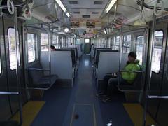 しなの鉄道、115系の車内
