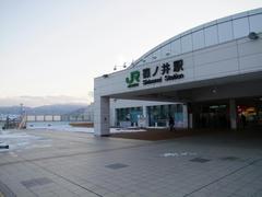ここはJRの駅!という雰囲気の篠ノ井駅