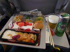 機内食も充実!