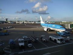 広大な空港ですが、使いやすい空港です