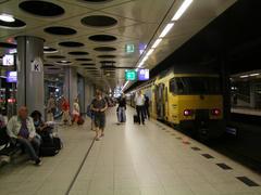 オランダ鉄道の車両は、黄色の塗装が特徴
