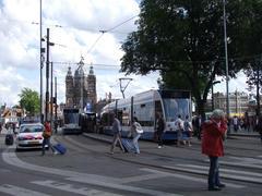 中央駅前からトラムが沢山発着しています
