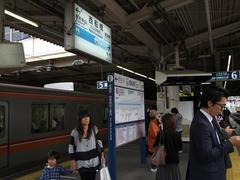 大事な中継地点、西船橋駅
