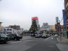 西船橋駅北口にて