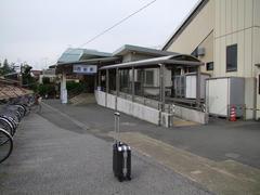 京成西船駅に到着!…荷物は少なめが吉!