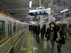 菊名駅にて…ここでの副都心線車両はやはり新鮮
