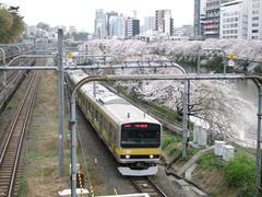 飯田橋駅付近にて