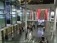 国際線ターミナルから国内線ターミナルへ移動
