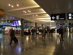 チューリッヒ空港のターミナル内