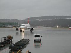 ヨーロッパ線でポピュラーな機種、A320型飛行機