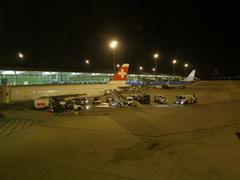 プラット空港に到着!