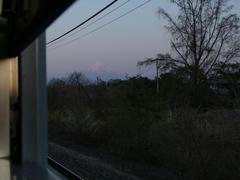 山梨県から望む富士山もまた良いものです