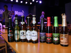 今回揃えられた、ドイツとベルギーのビール