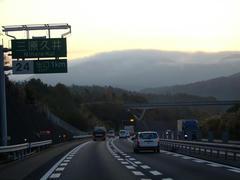 朝の山陽自動車道は、何だか印象的でした