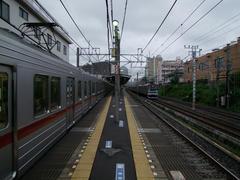 北池袋駅まで、JR埼京線と並走します