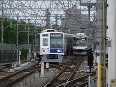西武鉄道と東急電鉄の車両の共演