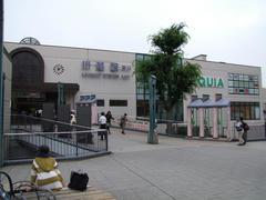 川越駅…こちらが、昔から人出が多い出口です