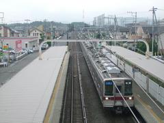 つきのわ駅…周辺は宅地化が進んでいます