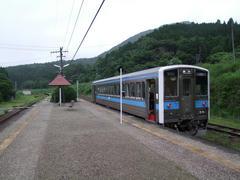 JR肥薩線、真幸駅…スイッチバックの駅でもあります