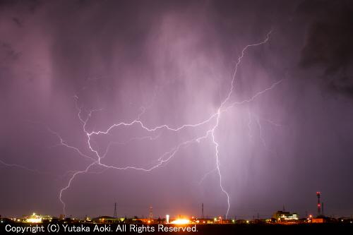 The Storm Chaser雷三大多発地帯