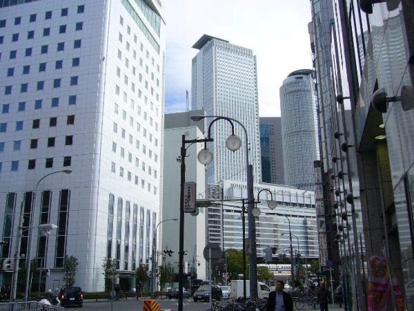 名古屋駅の裏(この横にもチサンホテルがある!)