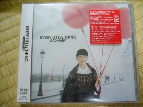ELTの新アルバム『ORDINARY』通常盤を購入!