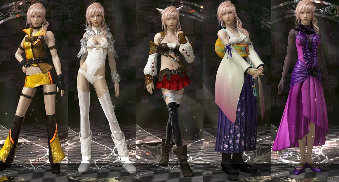 Final fantasy lightning returns yuna costume