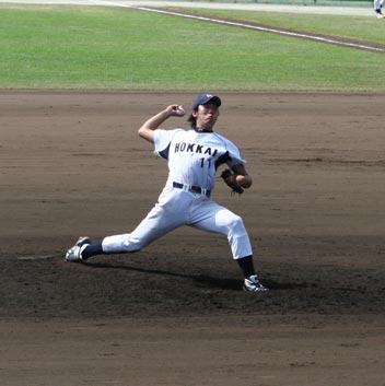 勝利投手宮崎太一選手