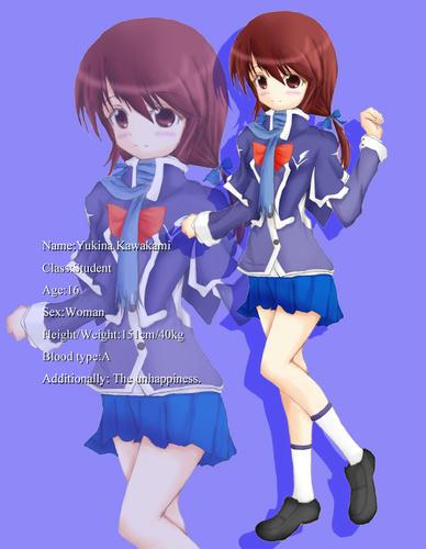 優希菜は、ひそかにコスプレすき。 いつも他校の制服着たいと思ってる