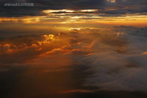 富士山からの夜明けその2