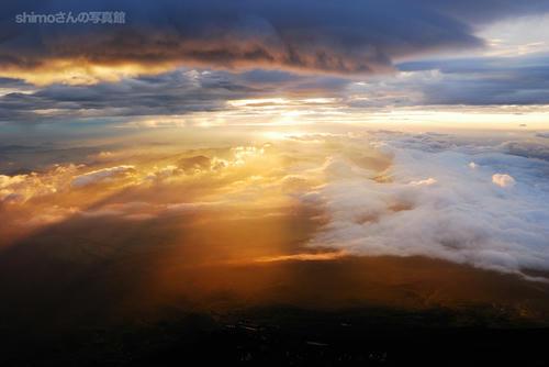 富士山からの夜明けその3