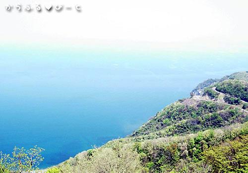 レインボーライン・山頂自然公園からの眺め