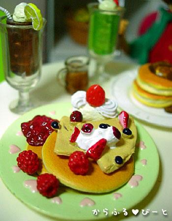 サンジさん特製ホットケーキ♪