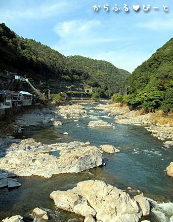 庄内川河口より40km
