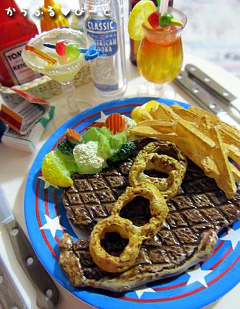 レッツトライ☆Tボーンステーキ